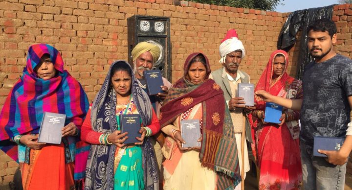 bible distribution India